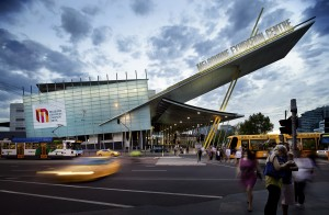 MCEC Exhibition Centre Exterior